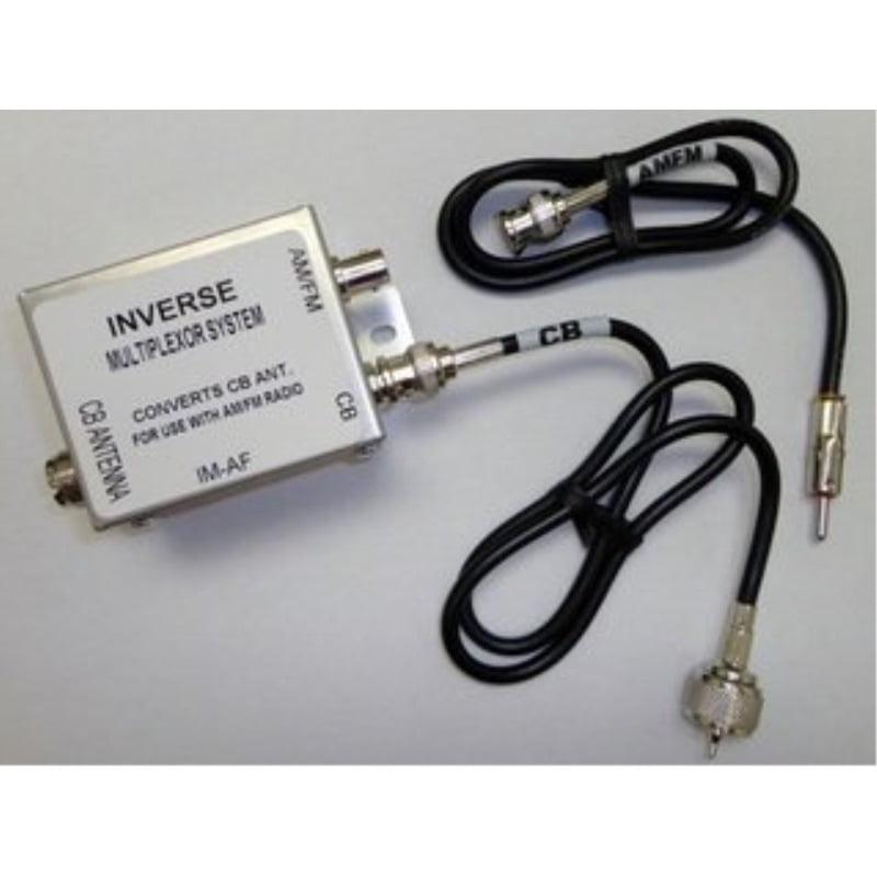 ProComm Im-AF Splitter CB AM FM Radio Audio Stereo Antenna MultiPlexor