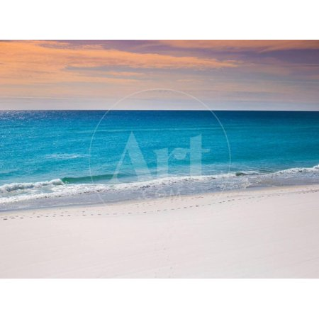 Calm White Pensacola Beach Vacation Spot Print Wall Art By Joshua