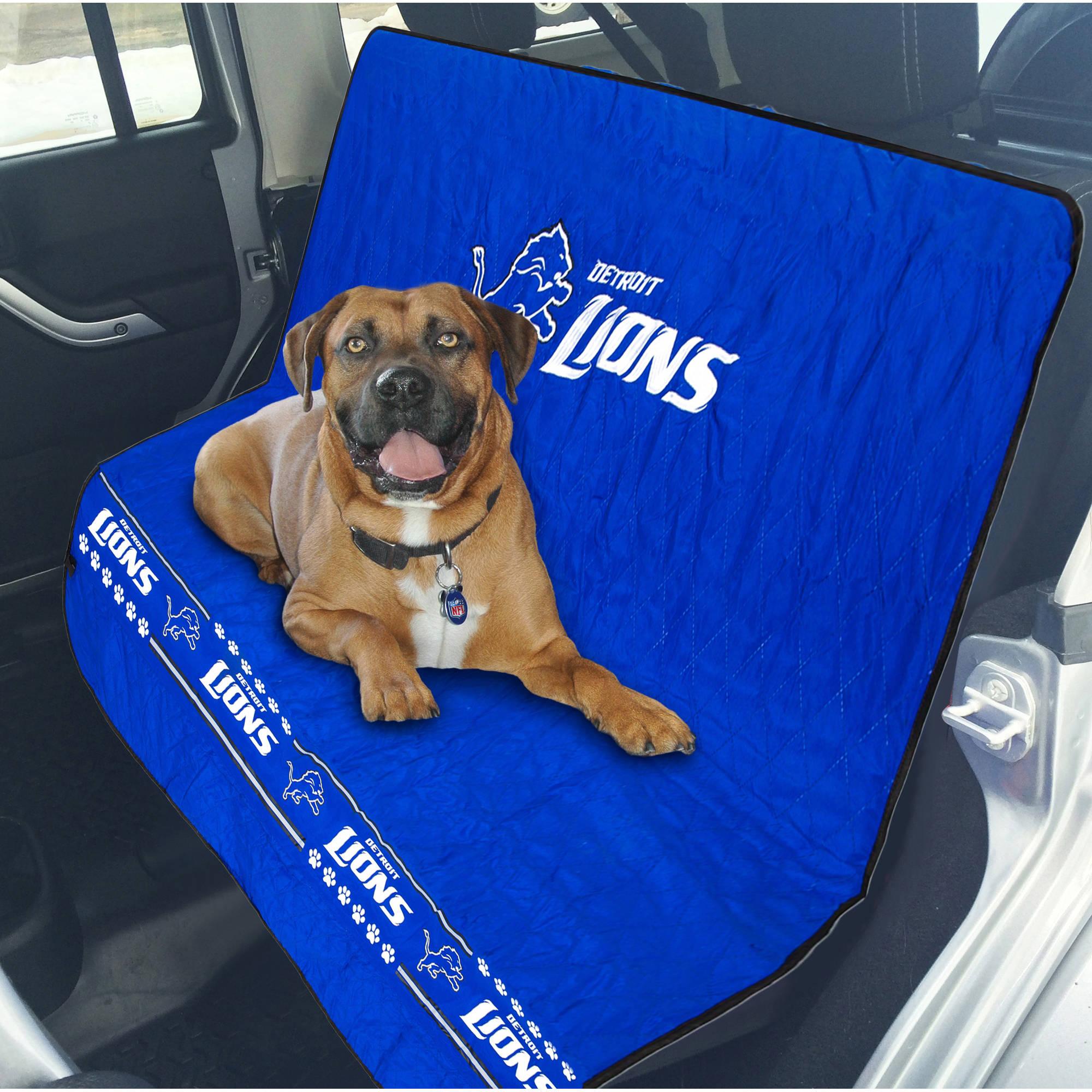 Pets First NFL Detroit Lions Car Seat Cover