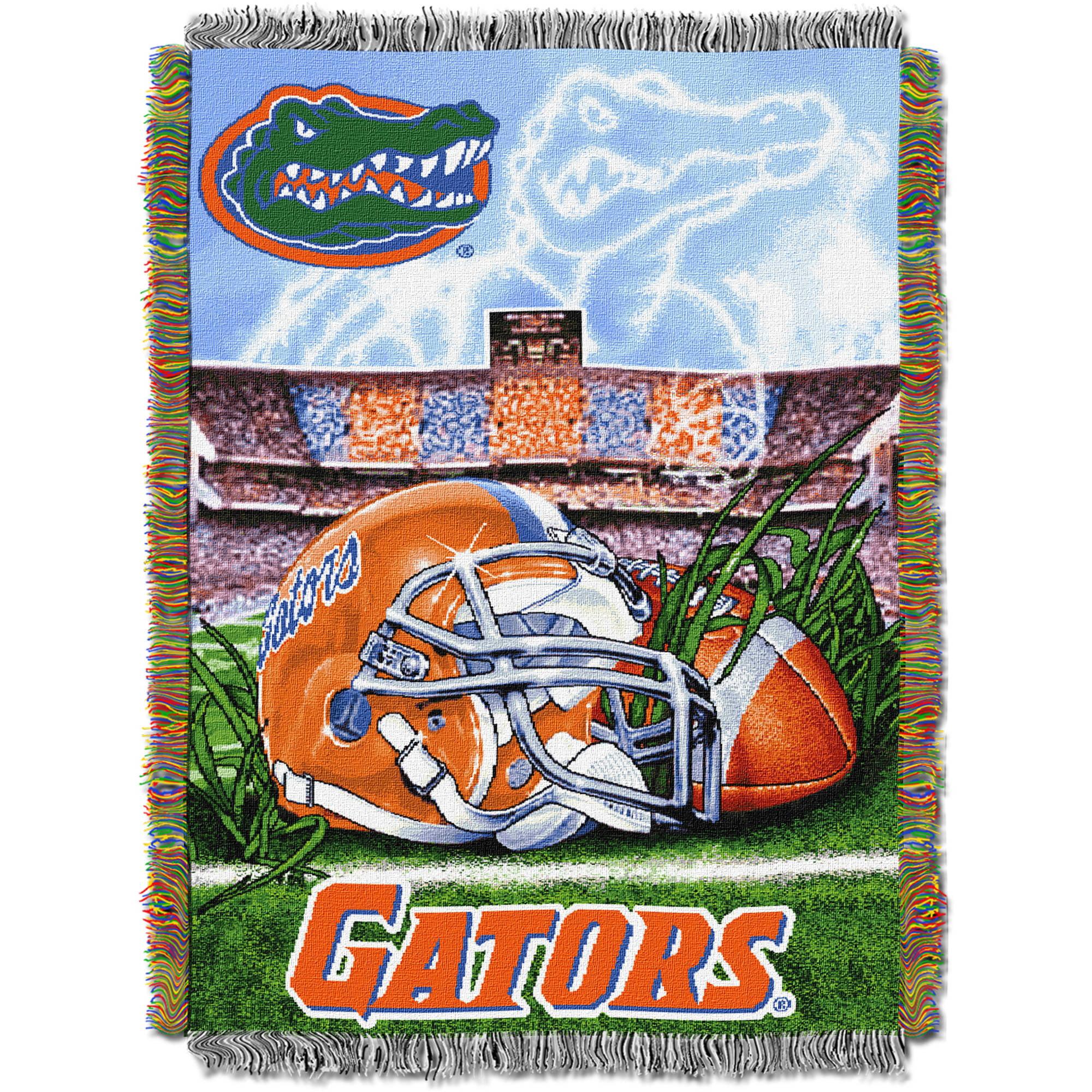 "NCAA 48"" x 60"" Tapestry Throw Home Field Advantage Series- Florida"