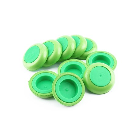 Dilwe 10Pcs Soft Refill Disc Green Bullet Darts Gun Bullets Accessory, Wholesale 10pcs Soft Refill Disc Green Bullet Darts](Accessories Wholesale)