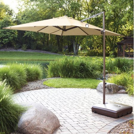 Garden Winds Replacement Canopy Top for UMB-499331 Square Offset Umbrella ()