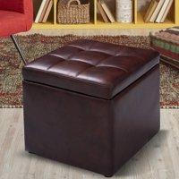 Fine Footstools Storage Footstools Walmart Com Theyellowbook Wood Chair Design Ideas Theyellowbookinfo