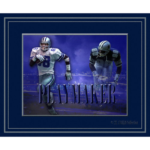 NFL - Michael Irvin Dallas Cowboys - Playmaker - 16x20 Collage