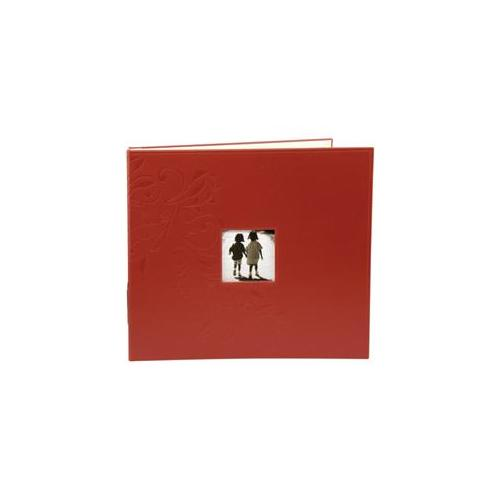 Making Memories MM31032 Embossed Leather 3-Ring Album W/Window 12 x 12 Inch