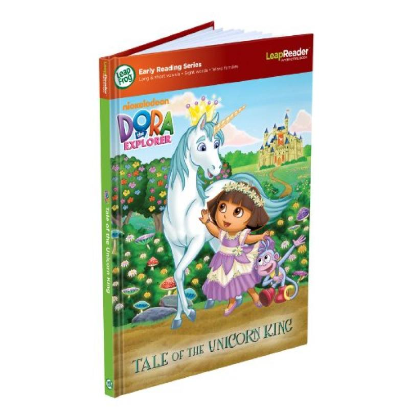 LeapFrog LeapReader Early Reading Book: Nickelodeon Dora the Explorer: Tale of the Unicorn... by