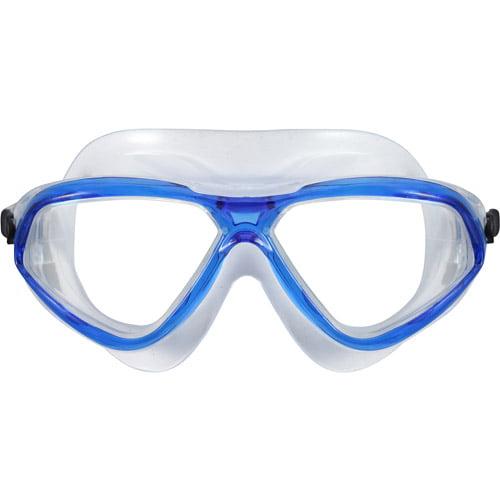 Us Diver's Stilo Junior Swim Mask in Blue with Clear Lenses