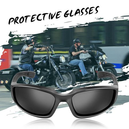 VENSE Motorcycle Glasses Windproof Dustproof Eye Glasses Goggles Outdoor Glasses - image 4 of 8