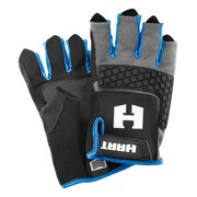 HART Fingerless Impact Utility Gloves, Medium