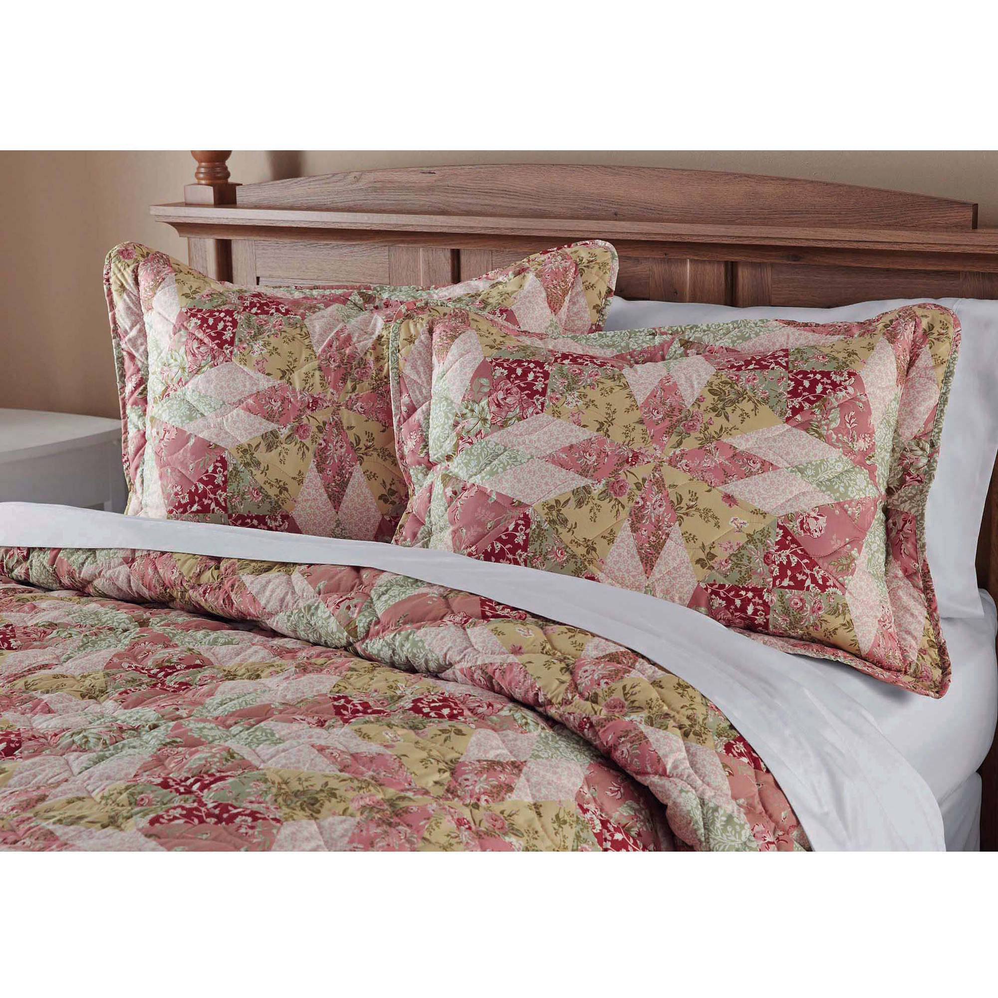 Mainstays Antique Garden Bedding Quilt by