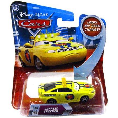 Disney Cars Lenticular Eyes Series 2 Charlie Checker Diecast