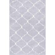 nuLOOM Hand Tufted Kathline Shag Rug 5' x 8' Grey Rectangle (ACR235A-508)
