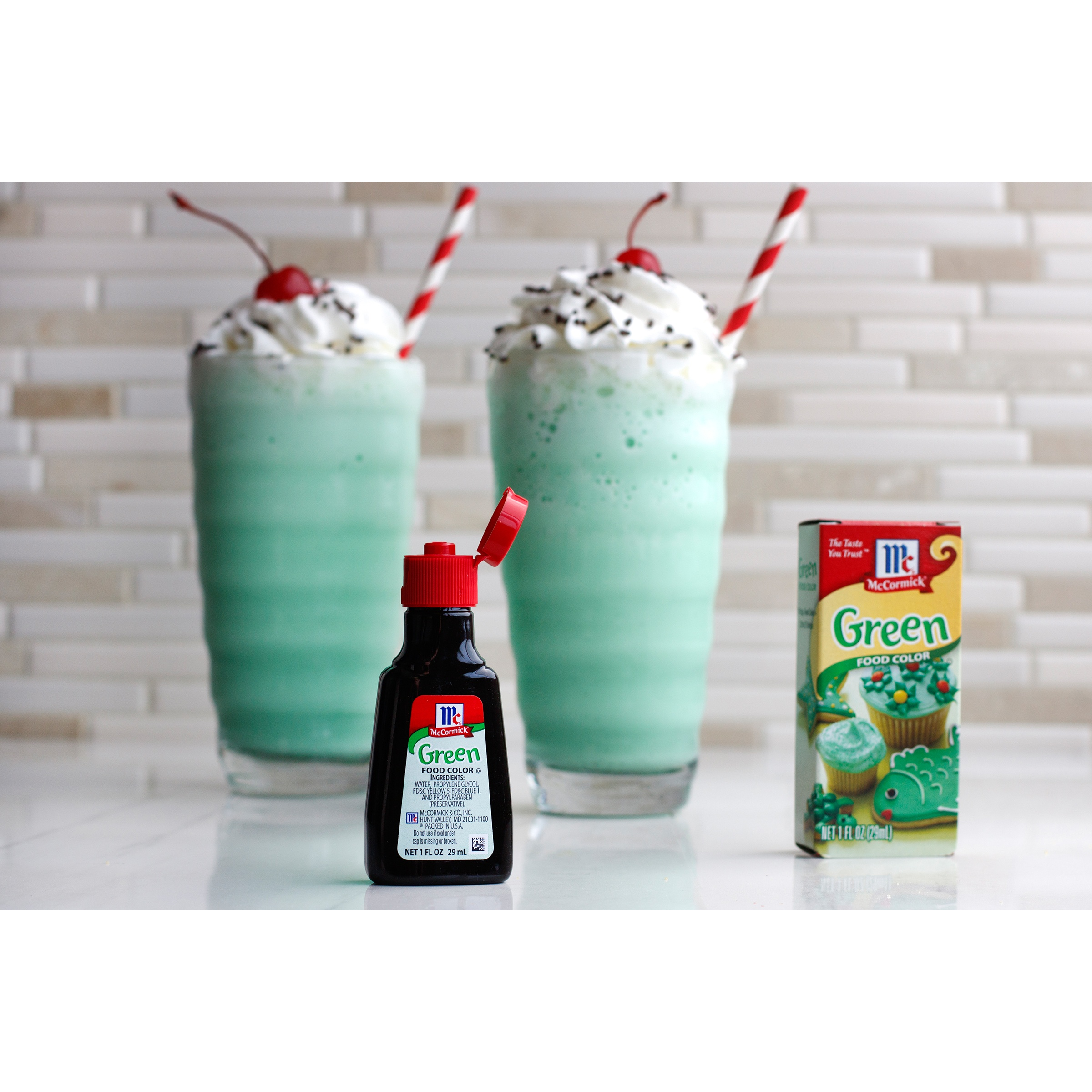 McCormick Green Food Coloring, 1 Fl oz - Walmart.com