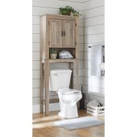 Better Homes & Gardens, Northampton Over the Toilet Bathroom Space Saver, Rustic Gray Finish