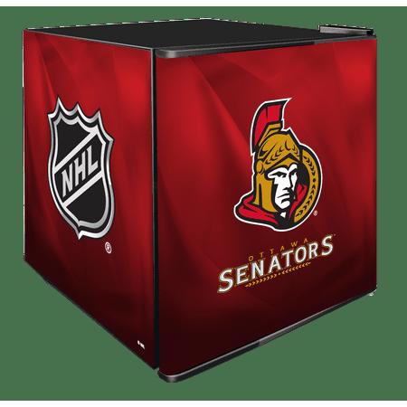 NHL Solid Door Refrigerated Beverage Center 1.8 cu ft Ottawa Senators by