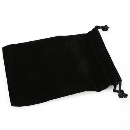 Chessex CHX02378 Small Suede Cloth Dice Bag, Black