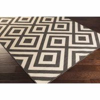 apartment AH Larissa Machine Made Medallion Indoor/Outdoor Area Rug, Forest
