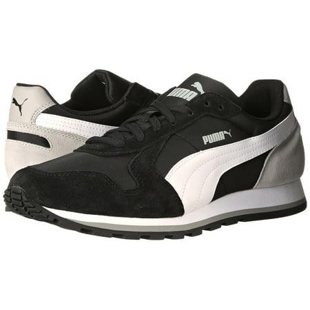 245b3ee1b74 PUMA - Men s ST Runner NL Black White Limestone Gray 35673817 - Walmart.com