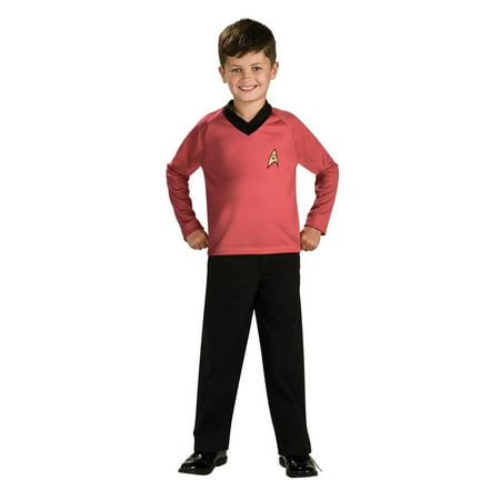 Star Trek Boys Scotty Halloween Costume](Rock Star Costume For Boys)