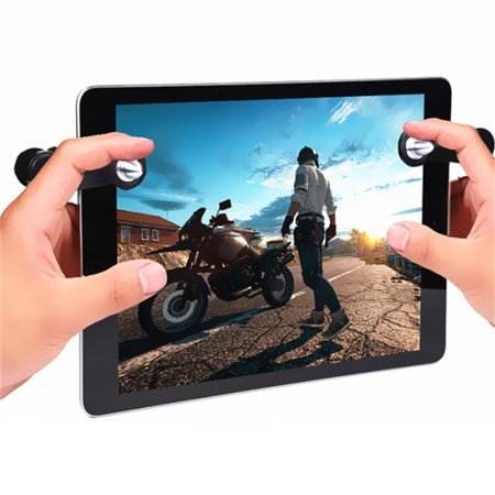 Tablet Game Controller Shooting and Trigger Fire Buttons L1R1 Mobile for iPad (Best Shooting Games For Tablet)
