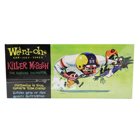 Weird Ohs Model (Weird-Ohs Car-Icky-Tures Killer McBash Paintable Decorative Model Kit)