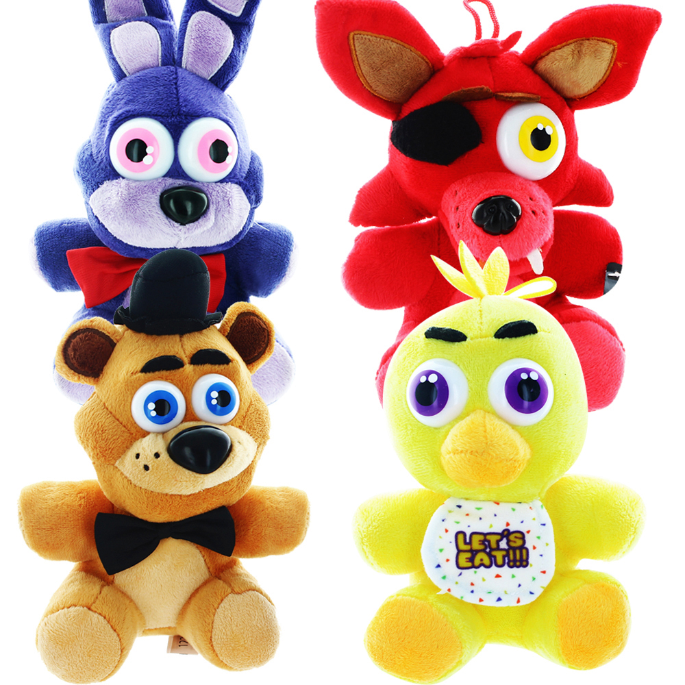"Five Nights At Freddy's 10"" Plush Set of 4"