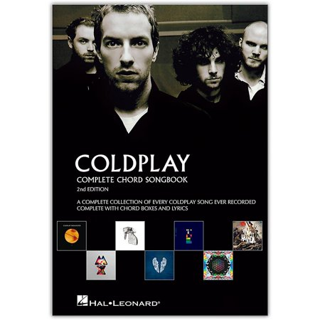 Guitar Chord Songbook Book - Music Sales Coldplay - Complete Chord Songbook - Guitar Chord Songbook Series (2nd Edition)