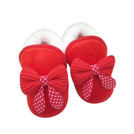 Babula Baby Toddler Soft Soled Warm Winter Boots First Walker Shoes 0-18M](Walker Engineer Boots)