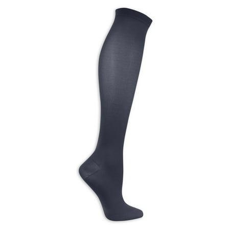 (Women's Microfiber Moderate Support Sock 1 Pair)