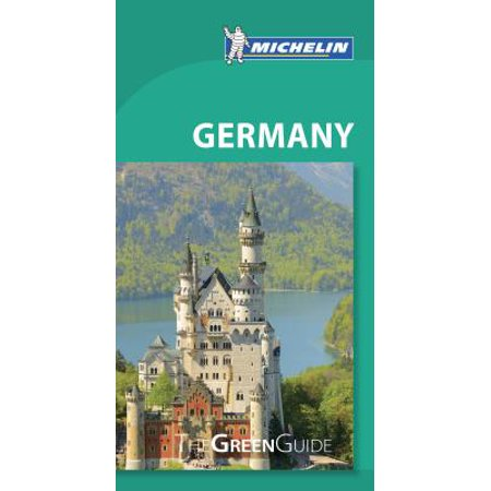 Michelin Green Guide Germany - Paperback