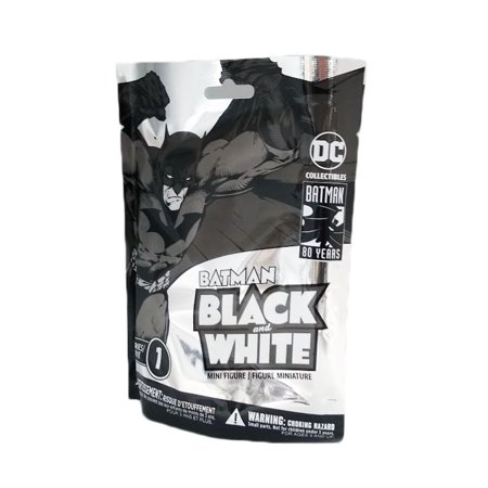 DC Collectibles Batman Black And White Series 1 Blind Bag Mini Figure (1 Figure)