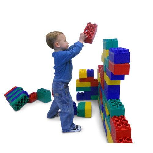 Kid's Adventure Jumbo Blocks 96 Piece Standard Set