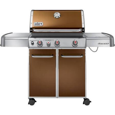 Weber Genesis E-330 38,000 BTU 3-Burner Gas Grill with Side Burner