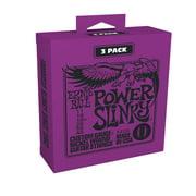 Ernie Ball Power Slinky 3-Pack Electric Guitar Strings (P03220)