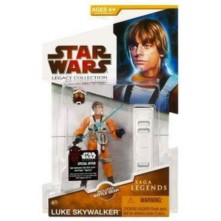 Star Wars Legacy Collection 2009 Saga Legends Luke Skywalker Action Figure