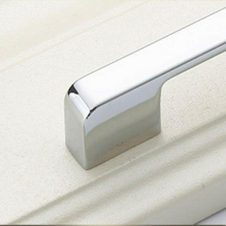 Practical Solid Modern Zinc Alloy Wardrobe Door Handle Simple Furniture Cabinet Drawer Door Handle Knob Home Decoration - image 5 of 7