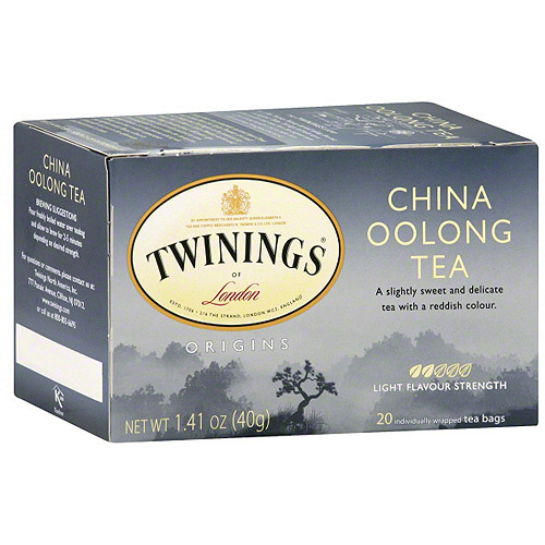 Twinings Of London China Oolong Tea Bags, 20ct (Pack of 6)