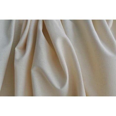 Organic Cotton Muslin Fabric - Natural - 58 Inches Wide - By the (Organic Muslin)
