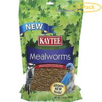 Kaytee Mealworms Bird Food 17.6 oz - Pack of 6