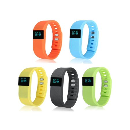 TW64 USB Bluetooth Pedometer Smart Wrist Watch Bracelet Waterproof for Android