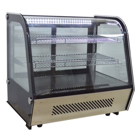 120L Bakery Showcase Commercial Dessert Refrigerated Display Cabinet 110V Pie Display Case (210088)