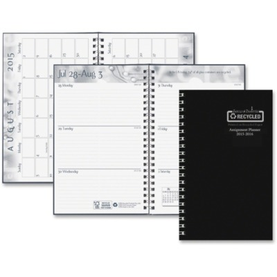 House of Doolittle Student Leatherette Wkly Planner HOD274RTG02
