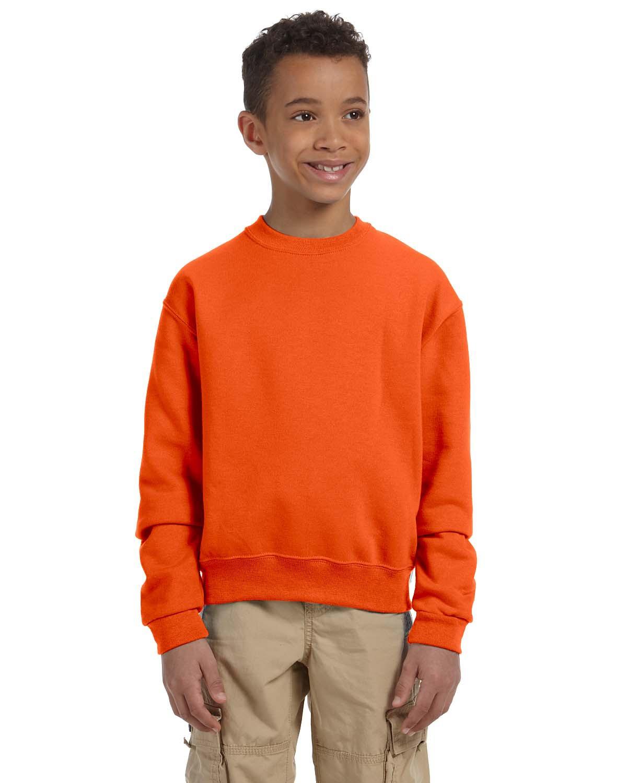 Jerzees Girl's Nublend Crewneck Sweatshirt - 562B