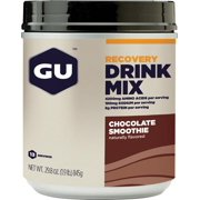 GU Recovery Drink Mix: Chocolate Smoothie, 15 Serving Canister
