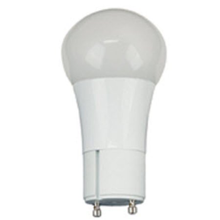 TCP LED10A19GUDOD30K White Single 10 Watt Frosted Dimmable A19 Twist And Lock Led Bulb Dimmable Twist Bulb