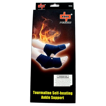 Perrini Tourmaline Self-Heating Physical Therapy Unisex Ankle Support Brace
