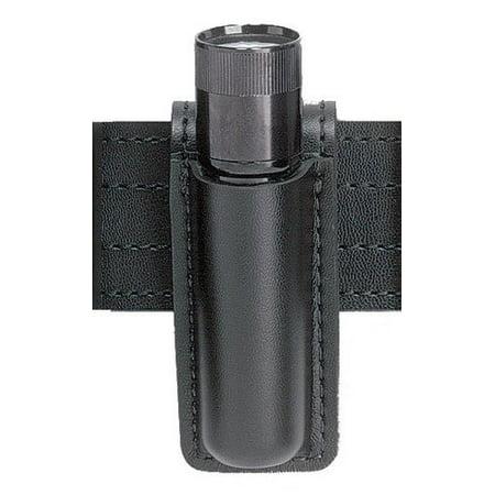 Safariland 306 Mini Flashlight Carrier (Safariland 306 Open Top Mini Flashlight Carrier, Black Tactical, Streamlight Stinger with Poly Grip)