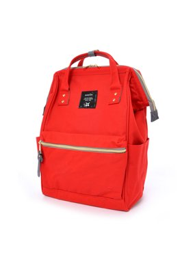 Product Image Anello Official Japan Red Unisex Fashion Backpack Rucksack  Diaper Travel Bag AT-B0193A-RE 464b26203dfa2