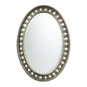 Sumner Mirror in Silver With Antique