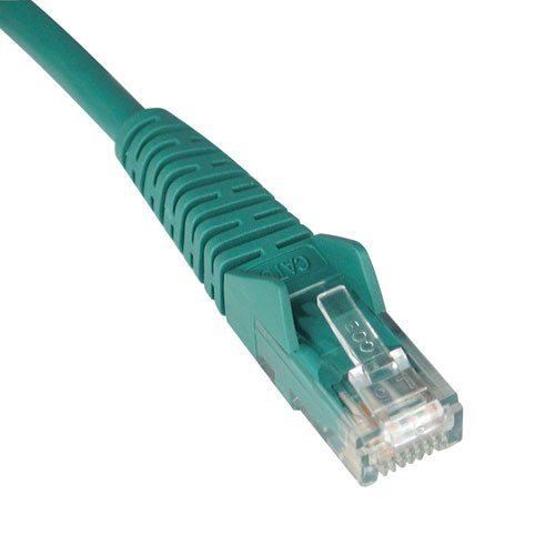 Tripp Lite 14ft Cat5e 350MHz Snagless Molded Patch Cable (RJ45 M/M) - Green